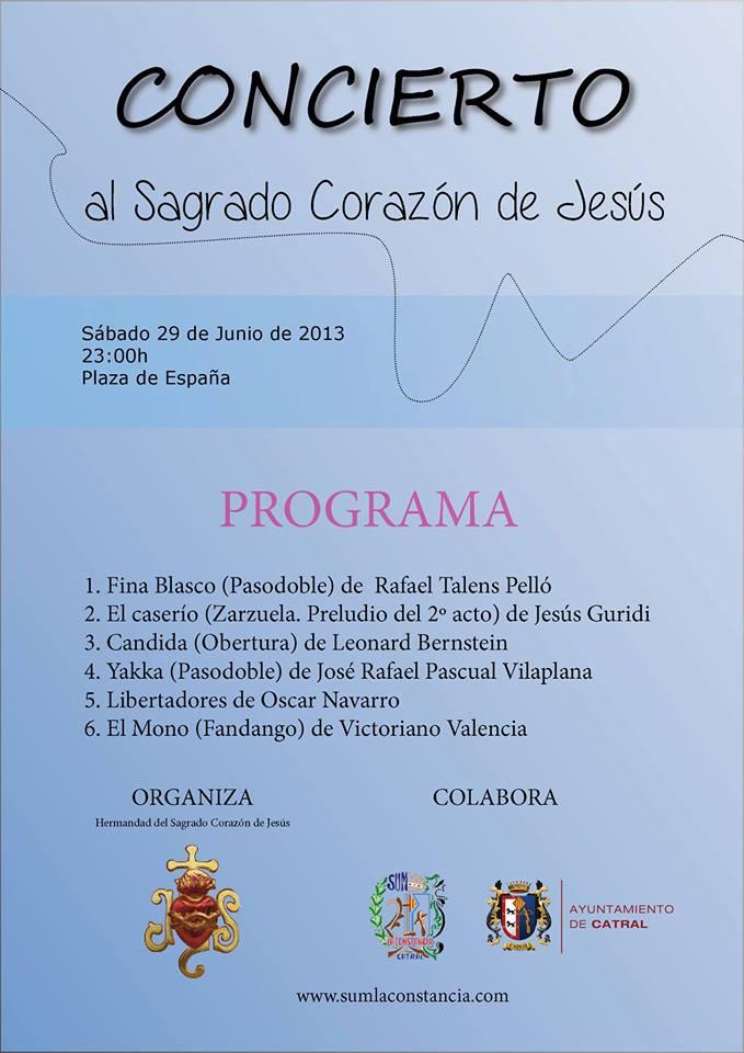 Concierto Sagrado Corazón 2013