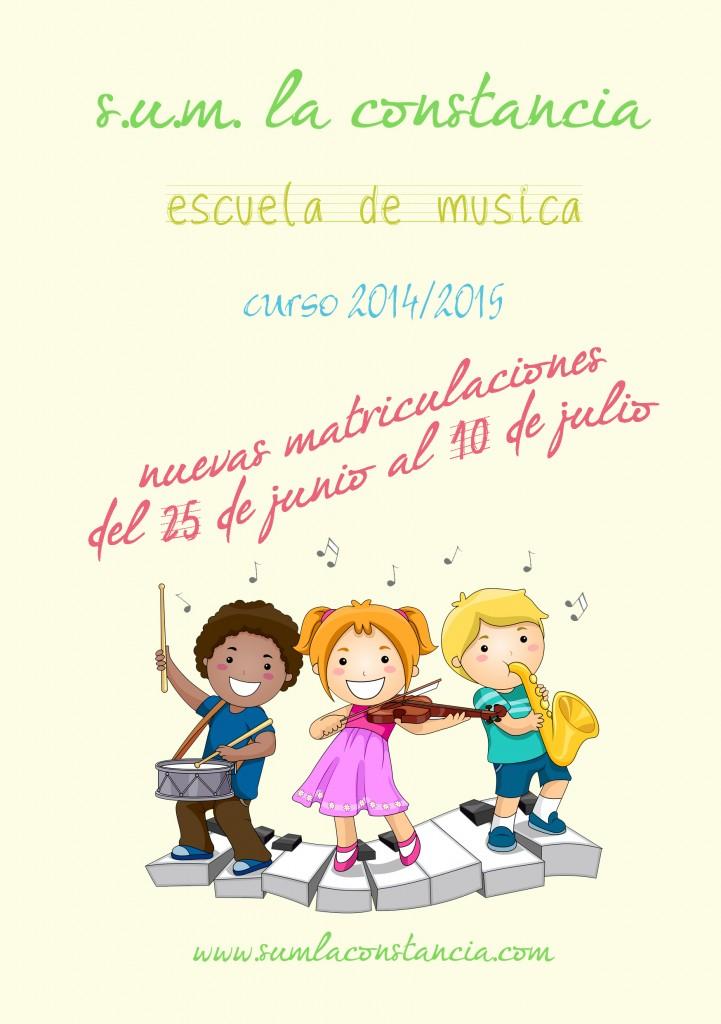 2014_06 Escuela de música - flyer A5 publicidad 14-15