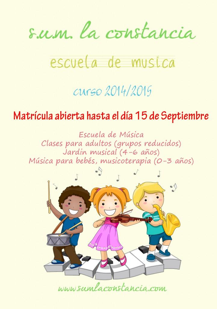 2014_06 Escuela de música - flyer A5 publicidad 14-15 - extra 2