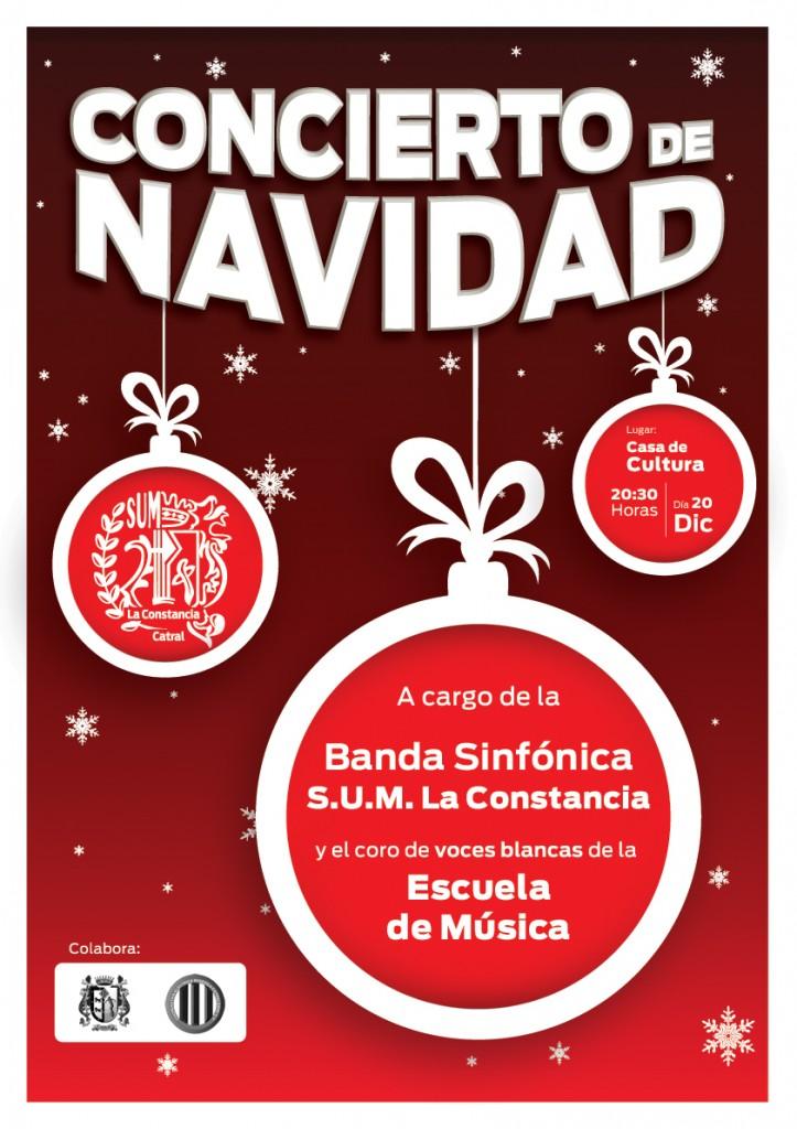Cartel Concierto Navidad SUM